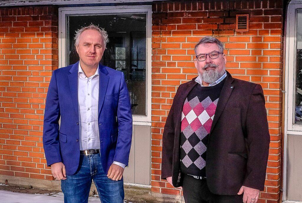 Jørgen Stensgaad Madsen og Anders Gjesing